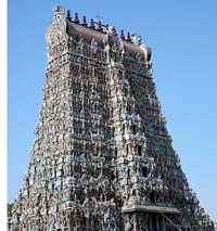 Meenakshi Temple Tower